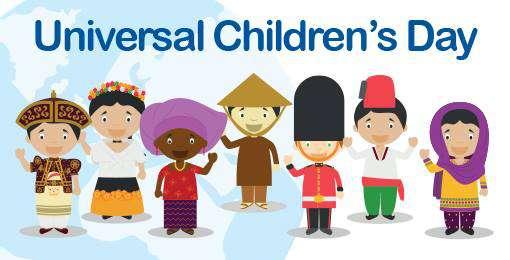 Universal Children's Day Wishes Unique Image