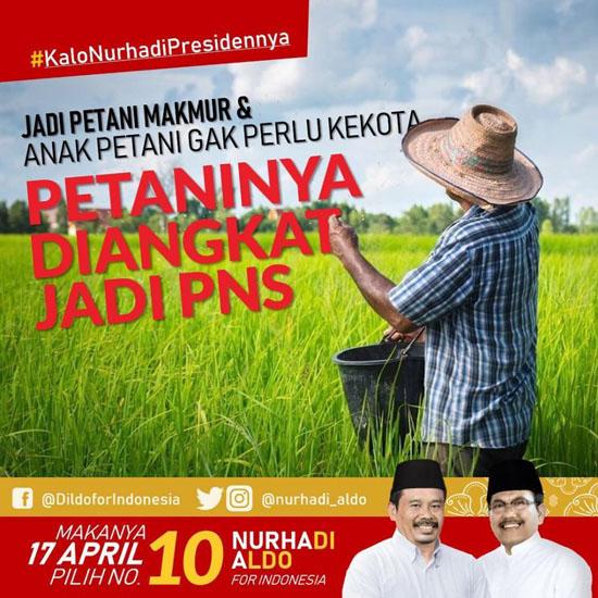 Kampanye Nurhadi-Aldo