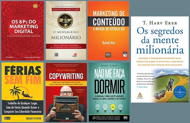 7 Livros que ensinam a ganhar dinheiro na internet