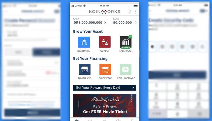 Aplikasi Koin Works Terbaru