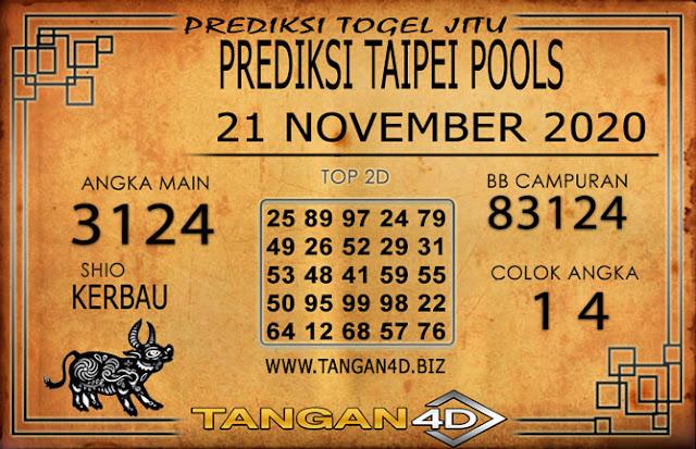 PREDIKSI TOGEL TAIPEI TANGAN4D 21 NOVEMBER 2020