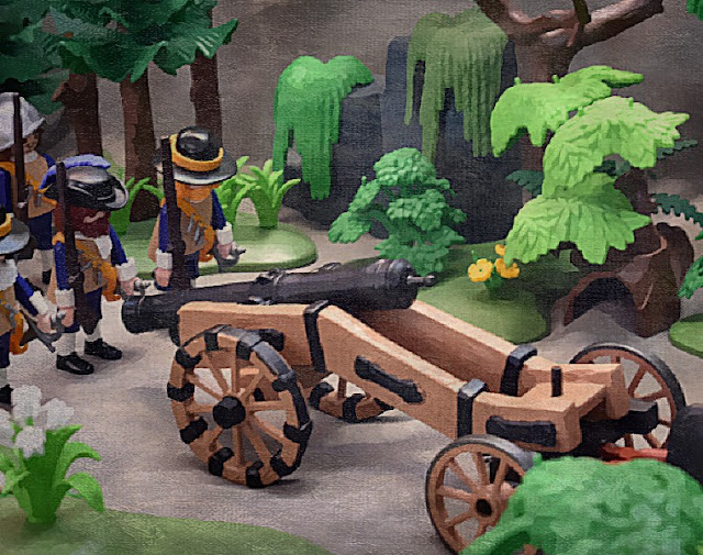 English Civil War Playmobil Figures