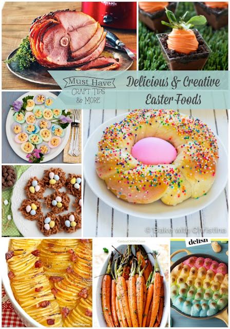Today I Am Sharing Some Delicious Recipes You Can Include In Your Easter Dinner As Well Fun Creative Foods That Are Perfectly Festive For Other