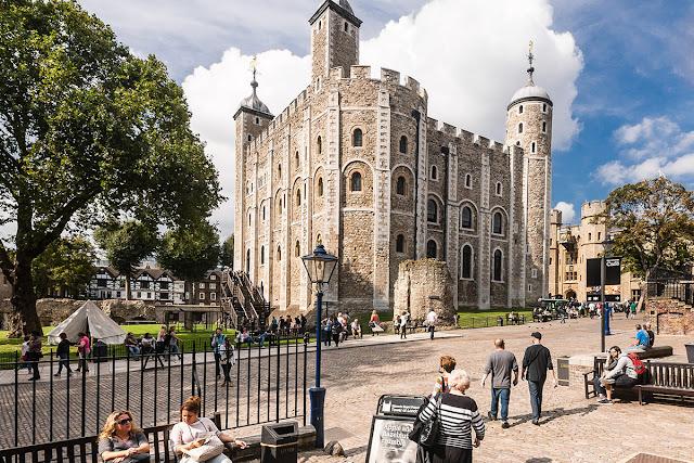 7. Tháp London, Anh