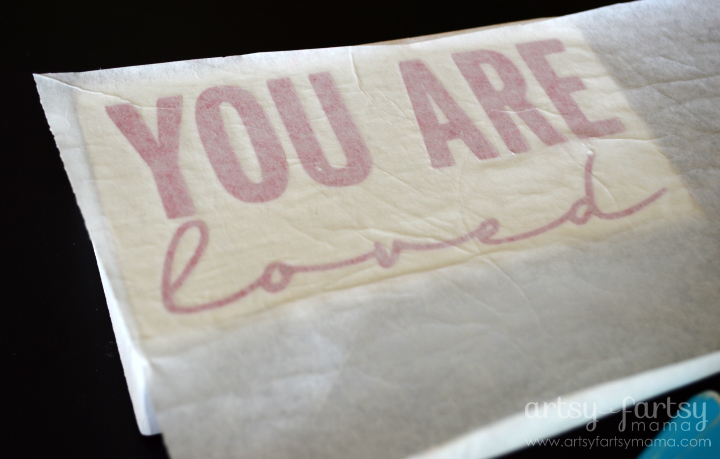 You Are Loved Blocks and How to Apply Vinyl
