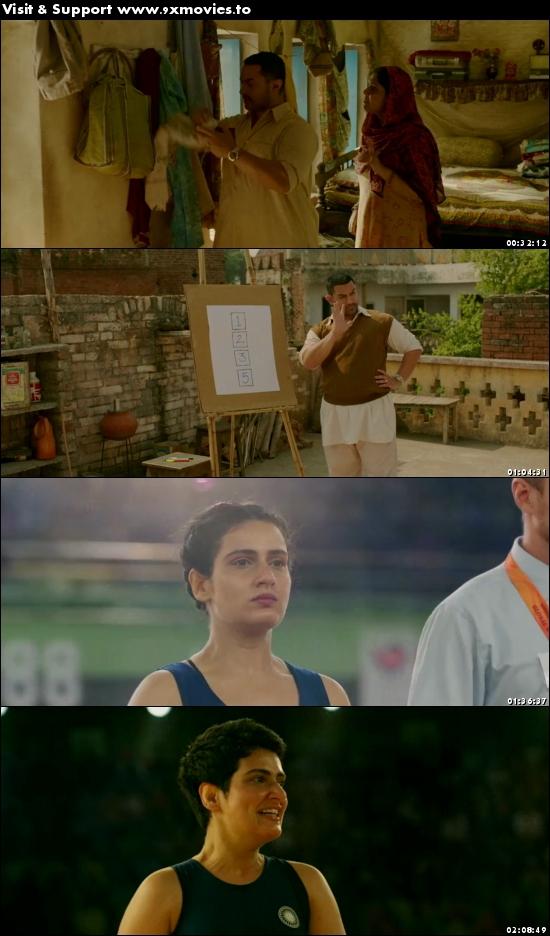 Dangal 2016 Hindi 480p BluRay 450MB