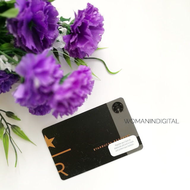 LivingMarjorney Starbucks Reserve Card