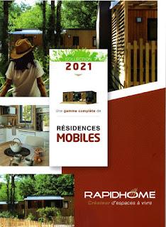 Neue 2021er Mobilheimkatalog  RAPIDHOME