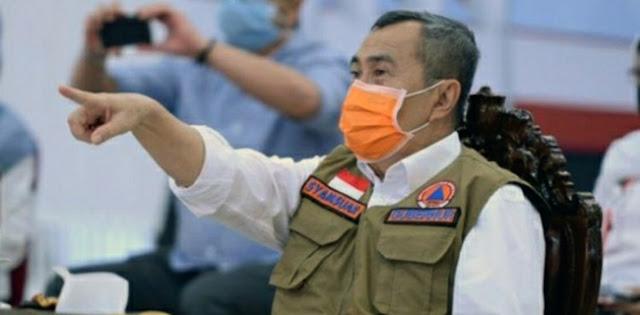 Beda Dengan Anies, Gubernur Riau Langsung Dirawat Usai Dinyatakan Positif Covid-19