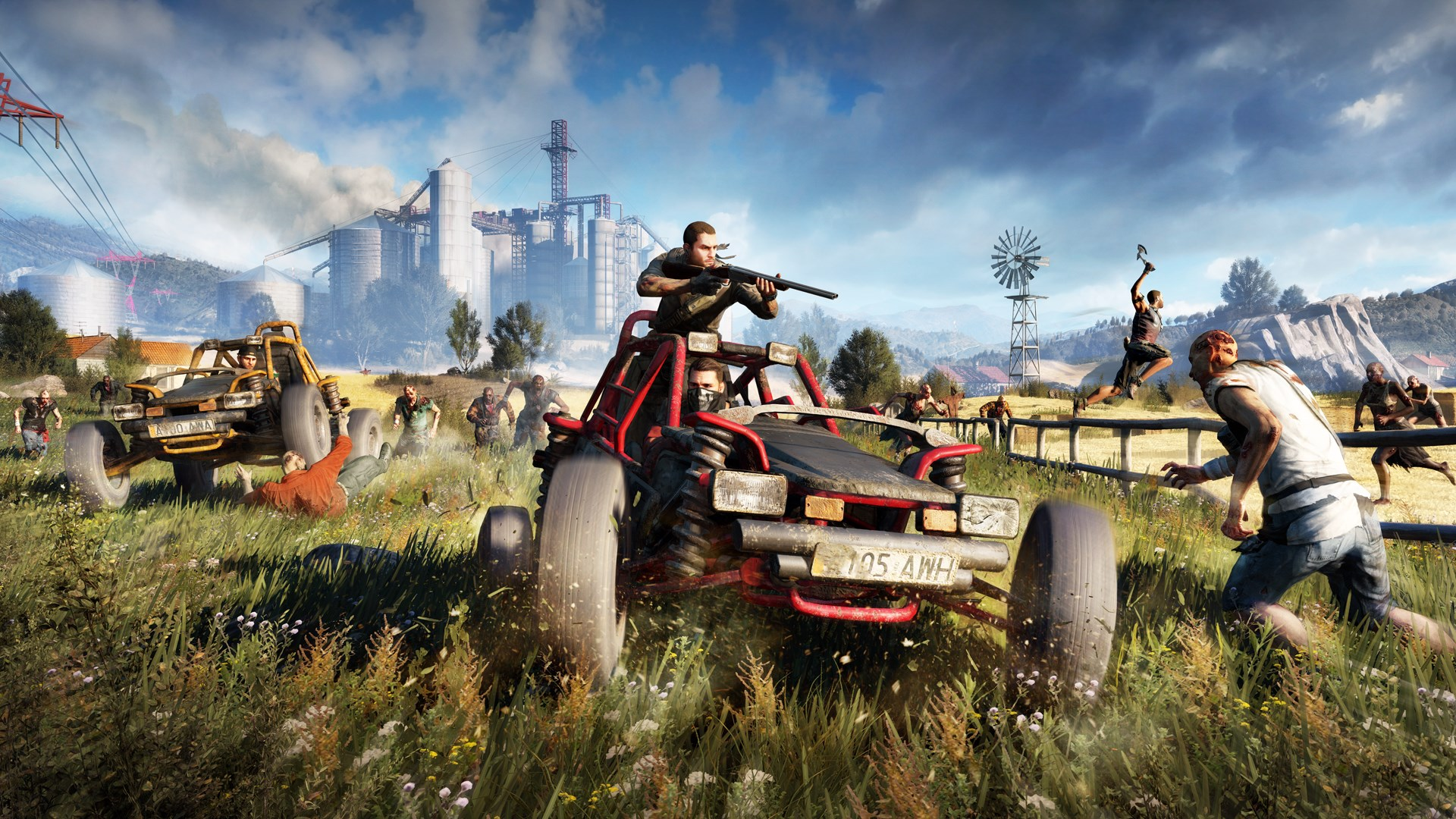 Dying Light:  Save (100% Golden Cat, Cool Weapons, All Game Blueprints) Steam Version