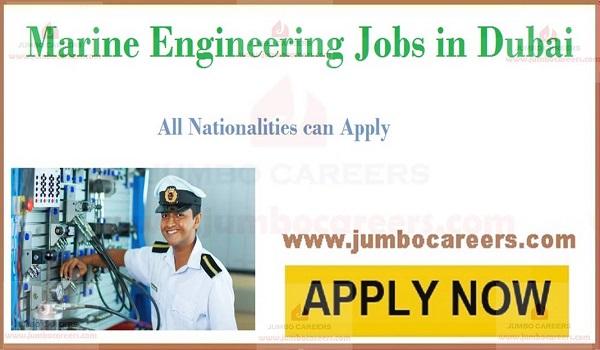 Latest Marine Engineer Jobs in Dubai August 2019
