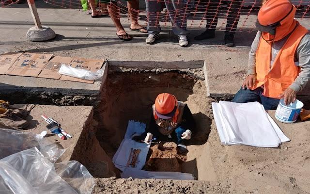 Pre-Hispanic burial found near urban area in Chimbote