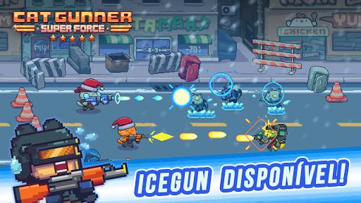 Cat Gunner: Super Força. 5 jogos leves e divertidos para Android e iOS