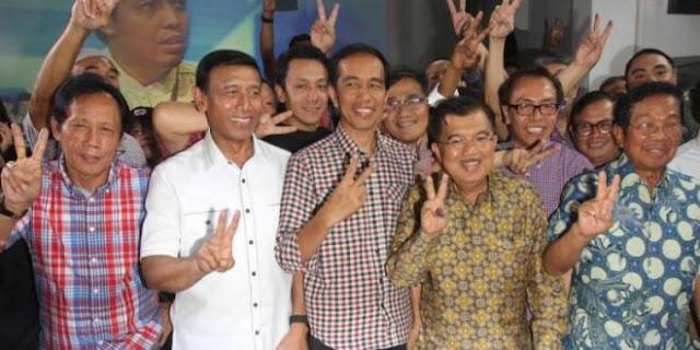 Mak Jleb! Wiranto: Tak Perlu Reuni Seperti Sekolah! Dulu Presiden Jokowi Reuni dengan Relawan Kok Diam?