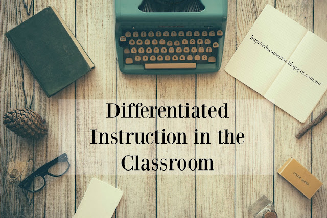 Differentiation is a teaching and learning tool that is essential in today's diverse 21st century classroom.