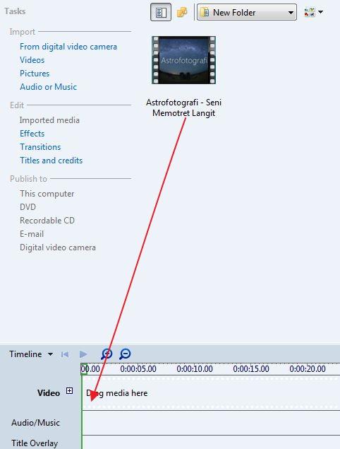 Cara Memotong Video Menggunakan Windows Movie Maker - Kang