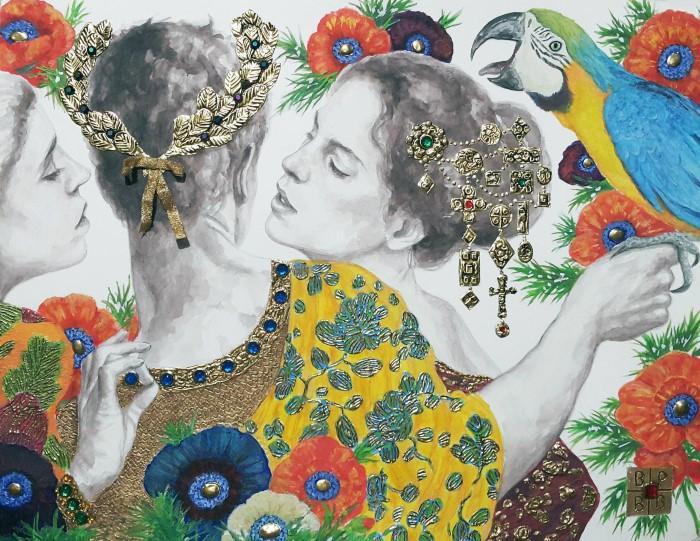 Иранский художник-самоучка. Bahman