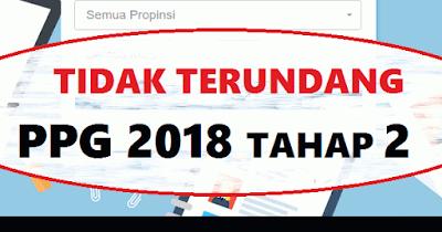 Solusi Tidak terundang PPG 2018 Tahap 2