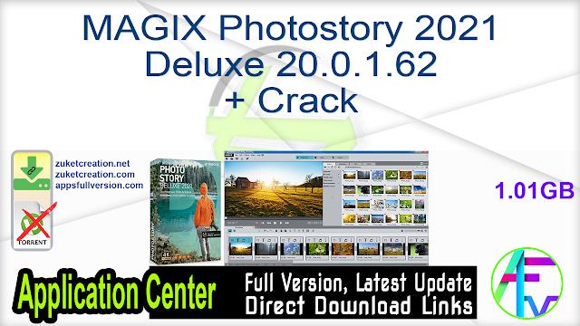 MAGIX Photostory 2021 Deluxe 20.0.1.62 + Crack