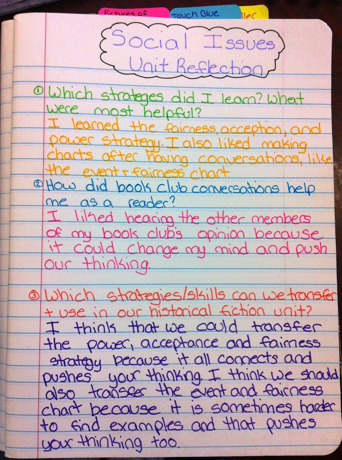 Two Reflective Teachers April