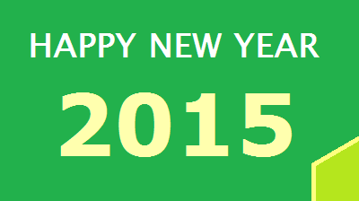 Wonderful New Year 2015