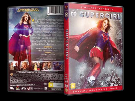 Capa DVD Supergirl - Segunda Temporada - Disco 1