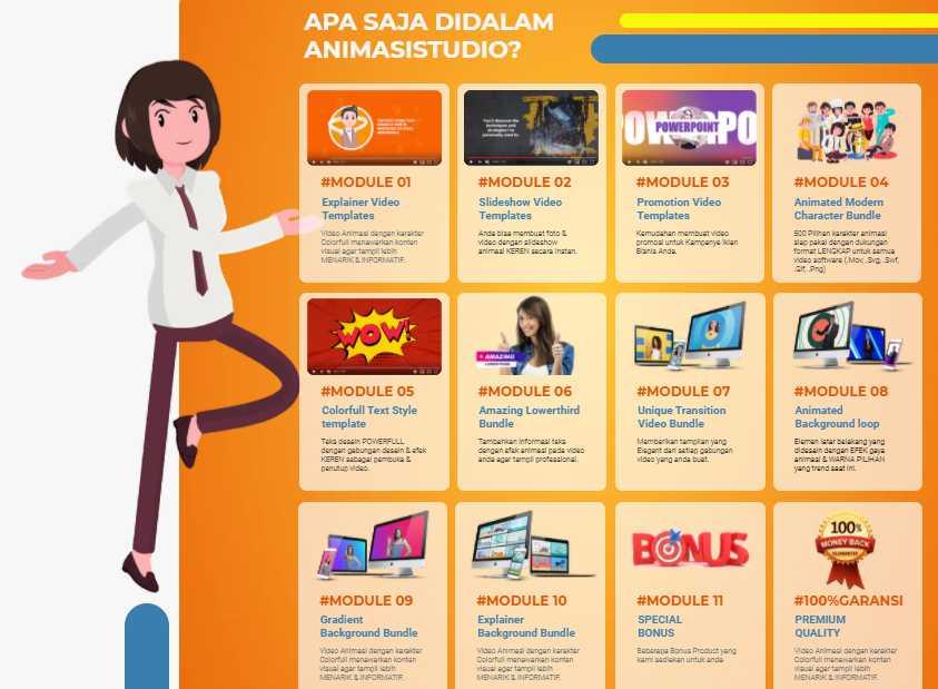 cara untuk membuat sebuah video animasi TANPA APLIKASI untuk keperluan iklan promosi marketing bisnis usaha dan jasa