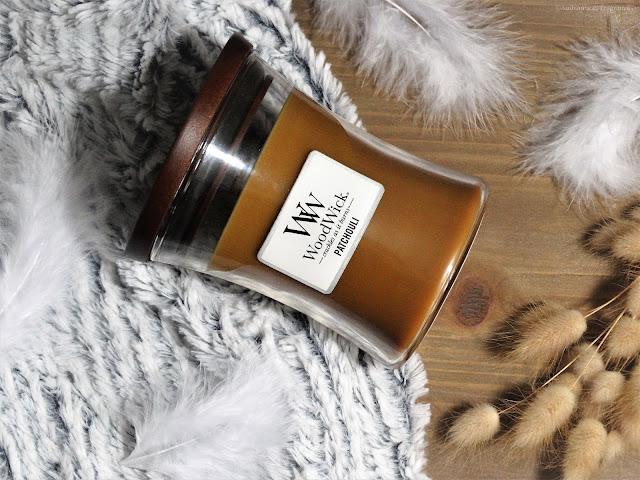 Avis Patchouli de Woodwick - Mystery Box, Box Bougies Parfumées de La Note de Coeur