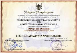 SEKOLAH ADIWIYATA NASIONAL 2018