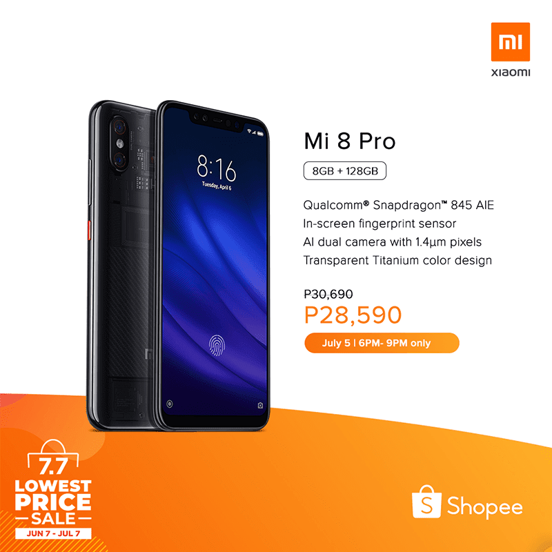 List of Xiaomi phones on sale at Shopee's Lowest Price Sale on July 7!