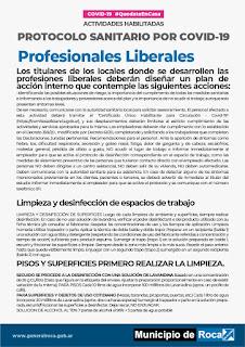 COVID-19: Protocolos Sanitarios - RocaNoticias.com
