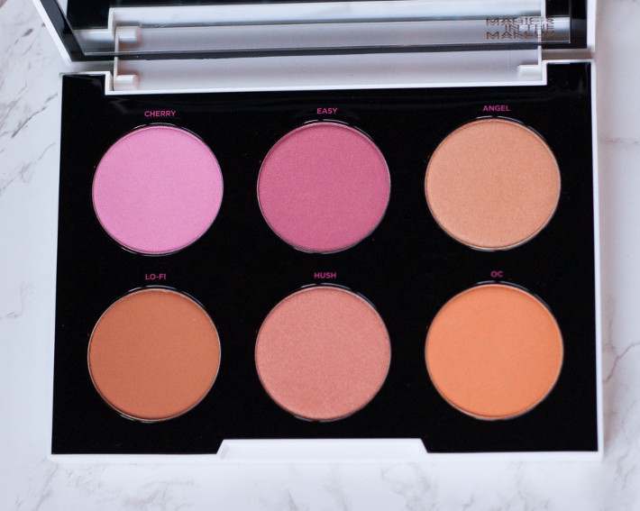 Urban Decay x Gwen Stefani blush palette review