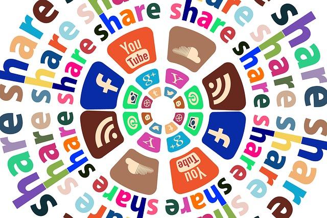 Ikon Share berbagai Sosial Media