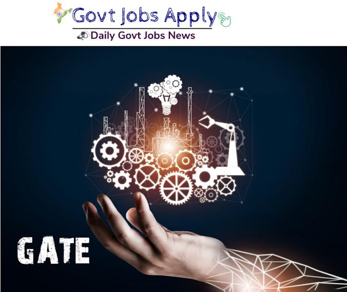 GATE Technical Govt Jobs
