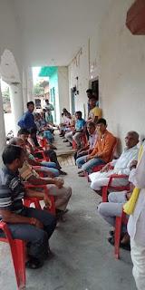 FB_IMG_1569155335627 जिला हरदोई विधानसभा संडीला ग्राम सभा सिकरोरी में नुक्कड़ सभा