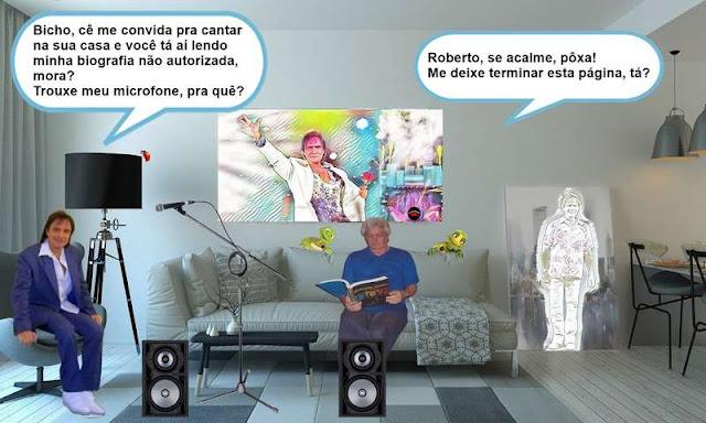 Vou botar Roberto Carlos cantar pra mim as músicas que eu quiser