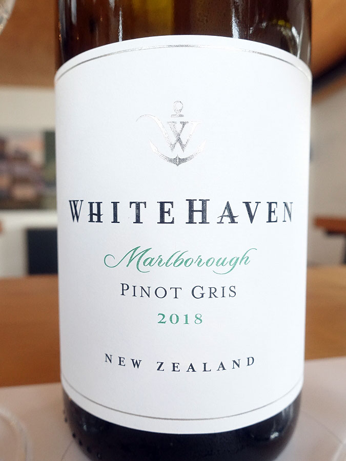 Whitehaven Pinot Gris 2018 (89 pts)