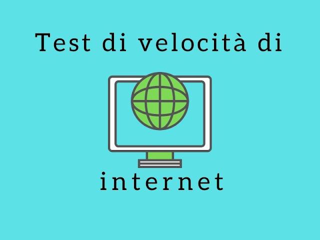 Il test di velocità di Internet