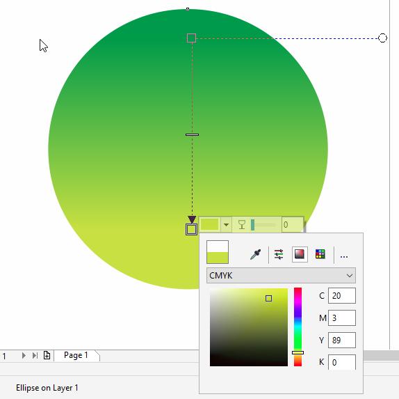 Membuat Background  dua  warna  Corel Draw DODO GRAFIS