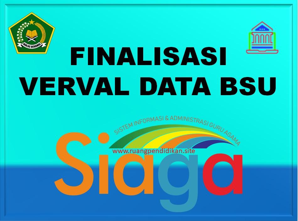 Surat Edaran Finalisasi Data Penerima BSU