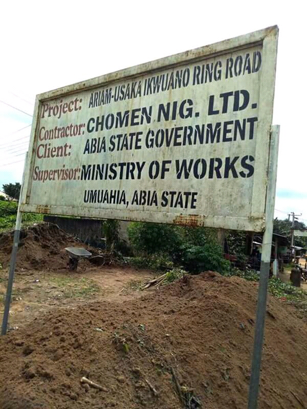 """Let's talk about Ariam-Usaka Ring Road and 90% contract sum you collected"""" @IkechukwuIroha Replies Acho Obioma"""