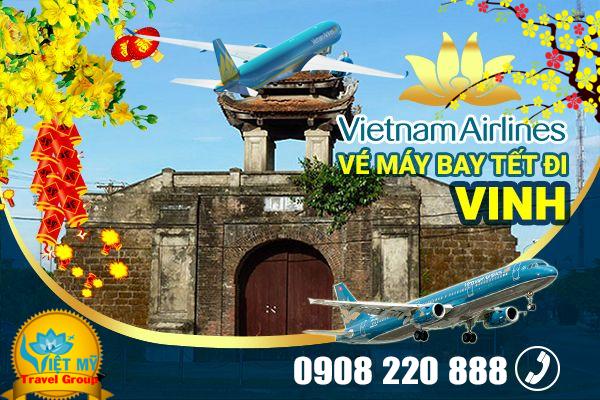 Vé máy bay tết Vietnam Airlines đi Vinh giá chỉ từ 1.953.000 đồng