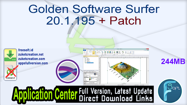 Golden Software Surfer 20.1.195 + Patch