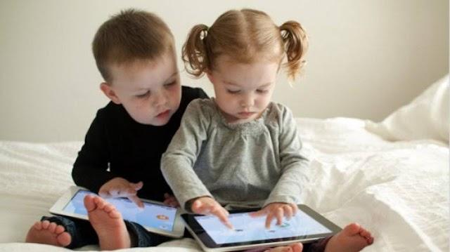 Hati - hati! Pakai Gawai Berlebih Bisa Mengganggu Kognitif Anak