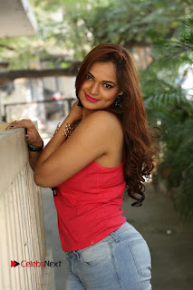 Tollywood Actress Ashwini Latest Stills in Ripped Jeans  0121.JPG
