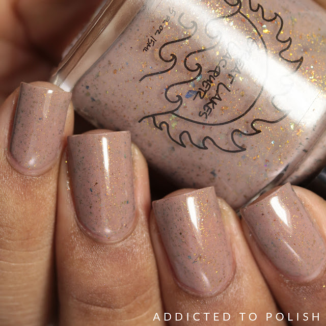 Great lakes Lacquer Coffee is Necessary A Nude Awakening Collection