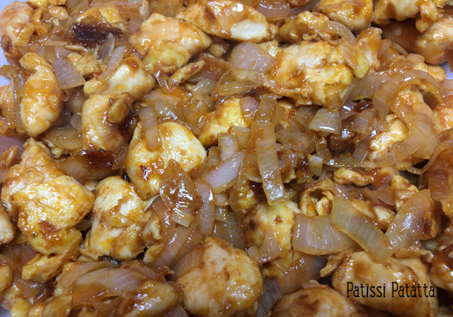 recette de poulet du général Tao, poulet du général Tao, recette asiatique, cuisine asiatique, poulet asiatique, patissi-patatta