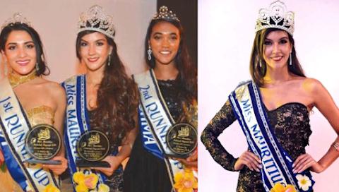 Angélique Sanson es Miss Mauritius 2019 / 2020