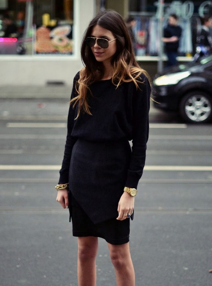 How To Wear All Black Outfits
