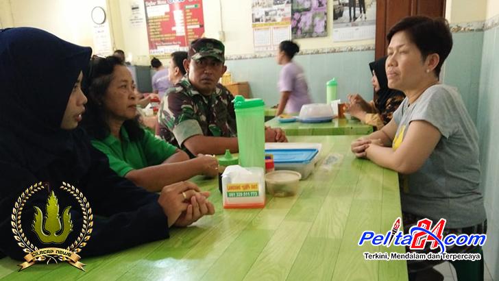 Babinsa Koramil 02/Banjarsari Ikut Andil Dalam Pendampingan UPTD Puskesmas, Ini Tujuannya